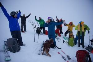 Start skisesongen på Sognefjellet med Lom skifestival. Foto: Johan Wildhagen